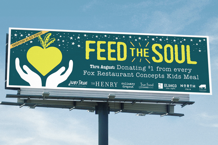 No Kid Hungry – Feed The Soul
